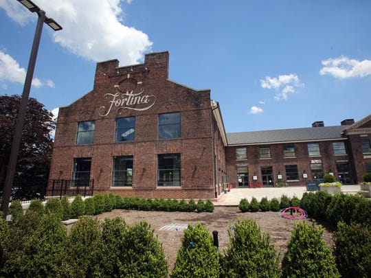 Fortina Yonkers in Yonkers June 27, 2017. The restaurant  has 35-foot ceilings, a custom mural commissioned and patio.