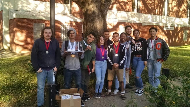 The Opelousas High School Science Olympiad team placed fourth in the region, officially qualifying for the state tournament.