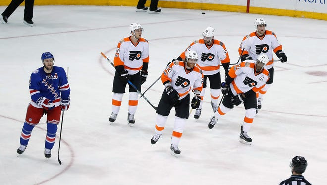 The Flyers won't be heading to the playoffs for the second time in three seasons.
