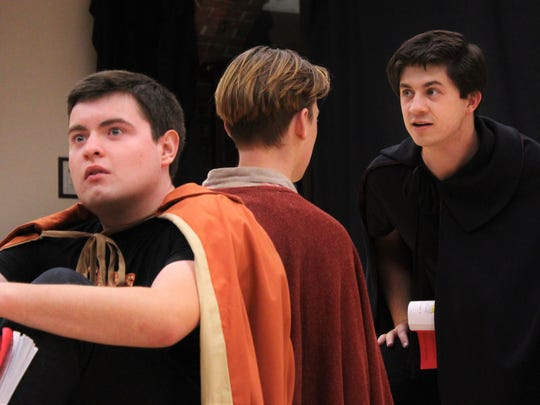 """Experience a quirky tale of Hamlet as told by two minor characters of Shakespeare's play in Tom Stoppard's comedy classic """"Rosencrantz & Guildenstern Are Dead"""" at Willamette University."""