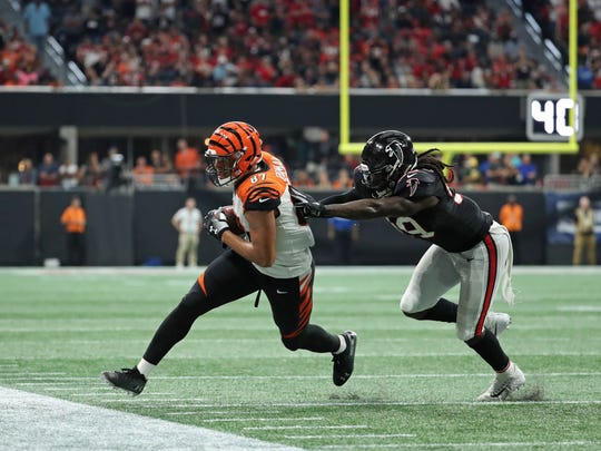 USP NFL: CINCINNATI BENGALS AT ATLANTA FALCONS S FBN ATL CIN USA GA