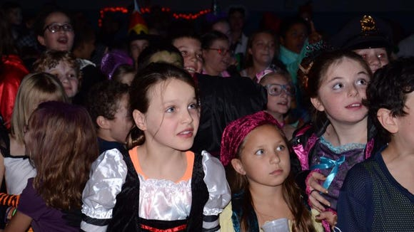 The students were thrilled to see the Wicked Wicth of the West come out. (Provided photo)