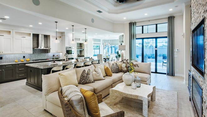 On Saturday, Feb. 17 interested homebuyers are invited to the Love Your New Home Tour at Palazzo at Naples.