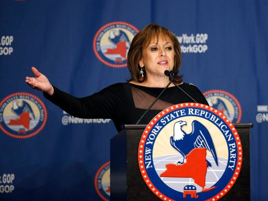 New Mexico Governor Susana Martinez speaks during the