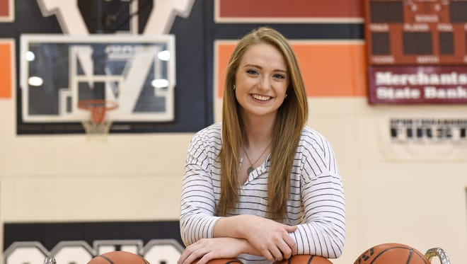 Viborg-Hurley's Abby Hora plans to play basketball at Augustana University. She wants to be a nurse.