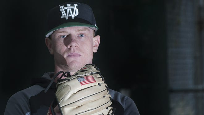 West Deptford senior Drew Wilden went 10-2 last season and led the region with 110 strikeouts in 67 innings.