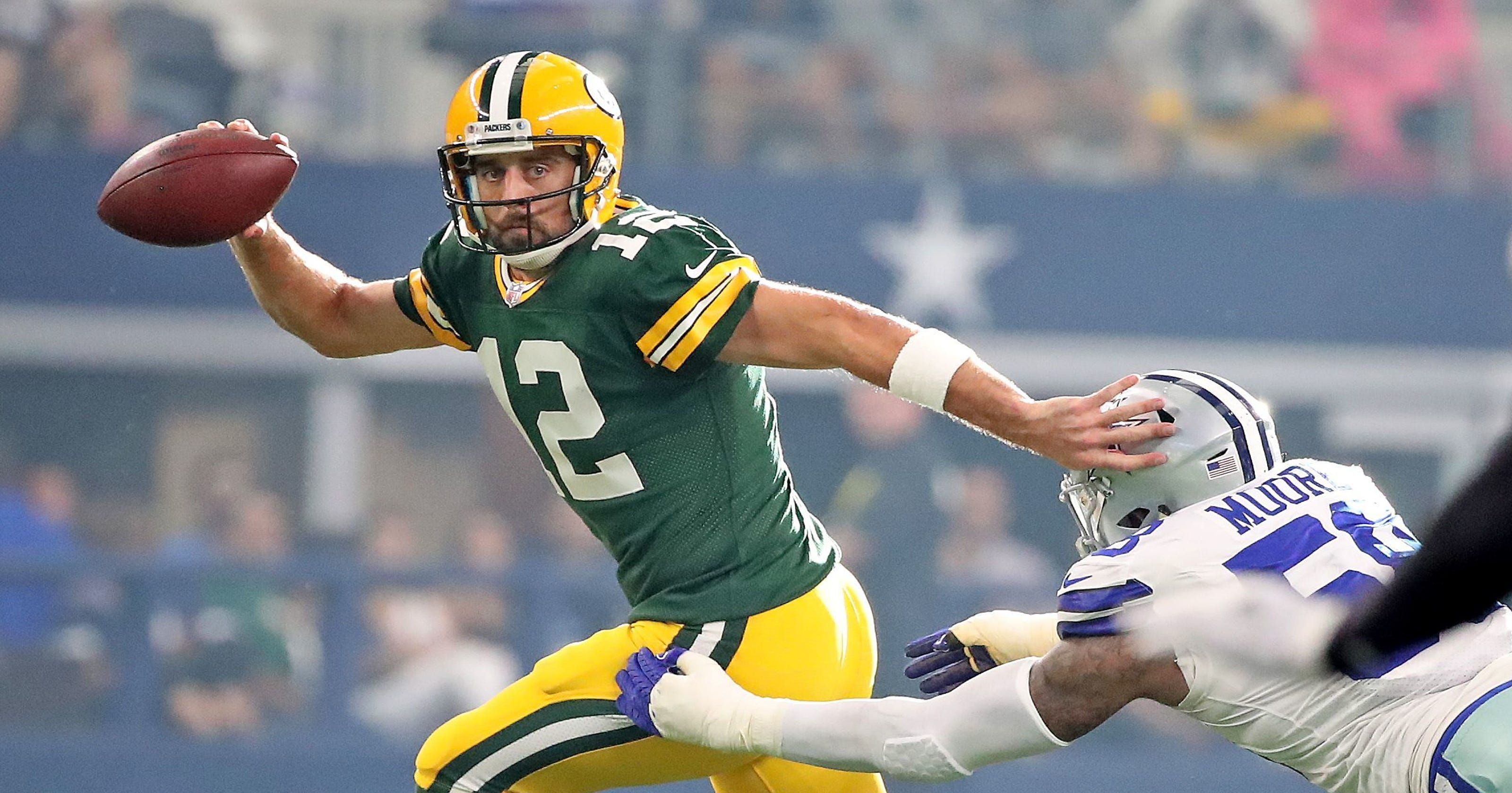e7f0e93bf6 Dougherty: How Aaron Rodgers' impending deal will impact Packers' salary cap