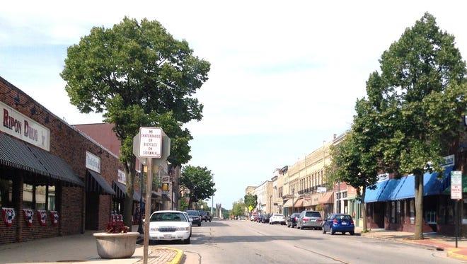 Ripon's Historic Downtown