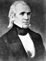 President James K Polk 1860