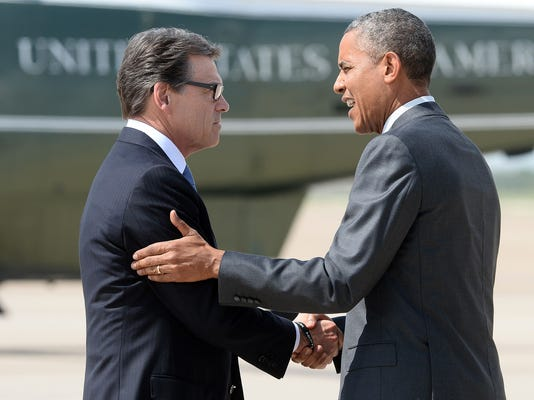 Obama and Perry