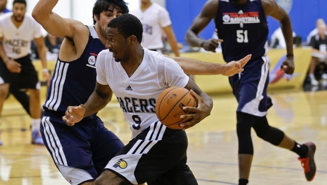 Pacers' Solomon Hill during Summer League play last season.