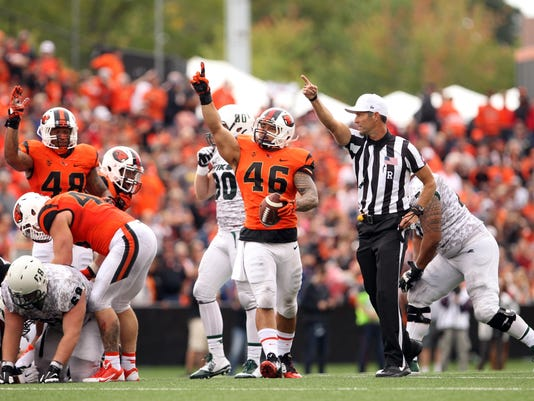 NCAA Football: Portland State at Oregon State