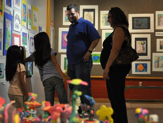 The Carlsbad Municipal Schools Annual Art Show is open