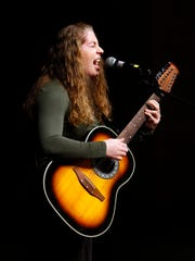 Erin Dempsey of Morristown performs during the Morristown