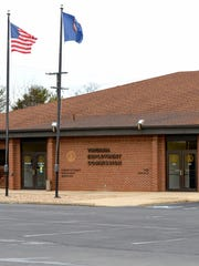 The Virginia Employment Commission local office in Fishersville is closed to the public, but those filing unemployment claims can do so online or by telephone.