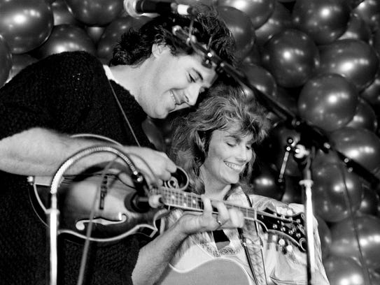Vince Gill, left, and Emmylou Harris of the Angel Band