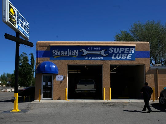 Bloomfield Super Lube is pictured Friday at 524 W. Broadway Ave. in Bloomfield.