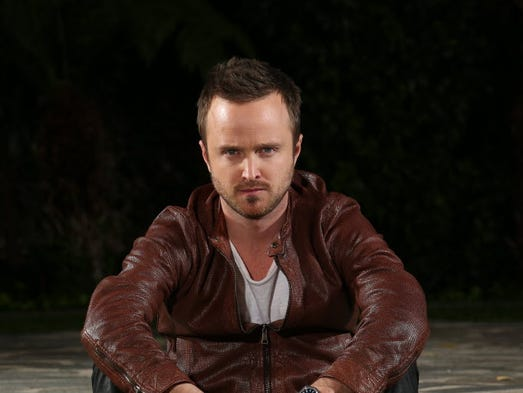 Aaron Paul, who stars in his first film, 'Need for Speed,' has come a long way since days as a guy in a Korn video.