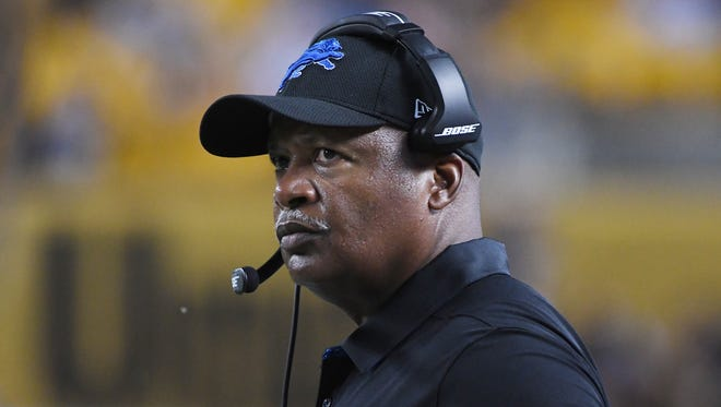 Lions coach Jim Caldwell has led Detroit to two playoff appearances and a 27-21 mark in three seasons.