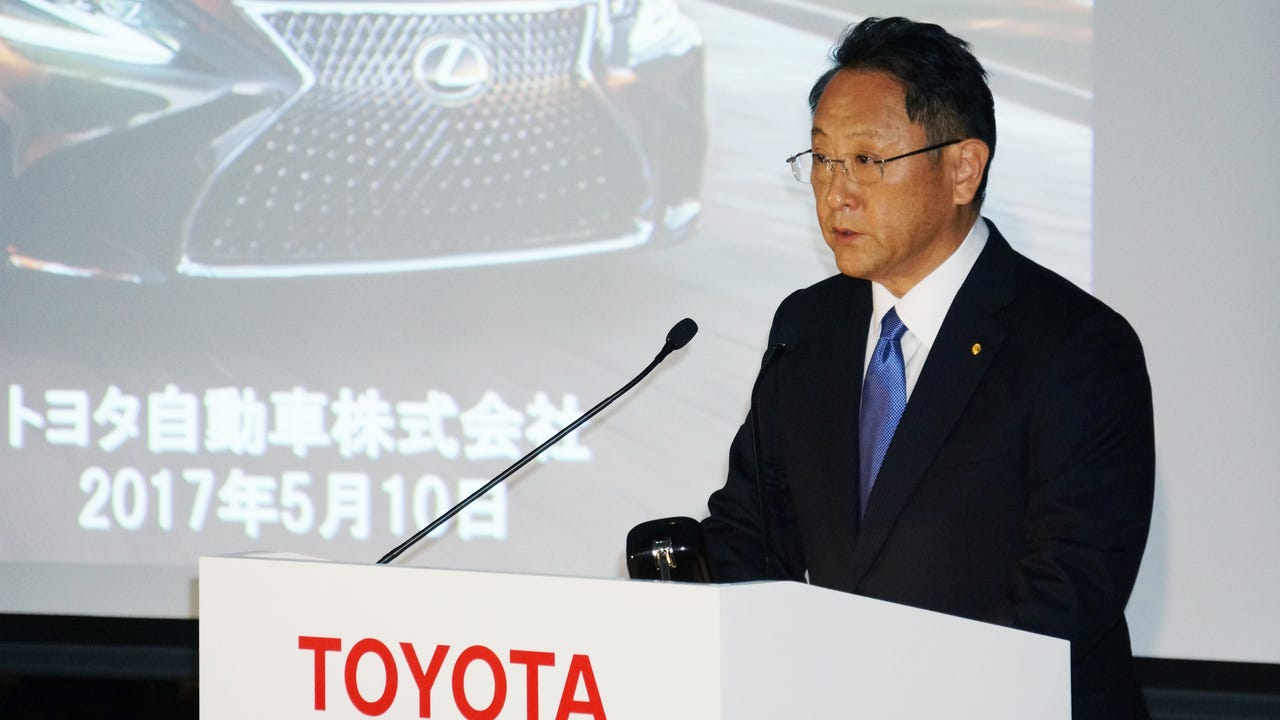Toyota Motor Co. posted weaker-than-expected full year results Wednesday and cautioned that profits in the current fiscal year are likely to fall sharply as the yen strengthens and sales stall.