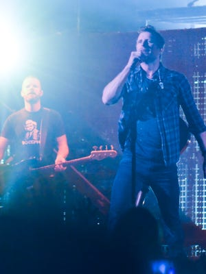 Dierks Bentley was greeted by a sold-out crowd of about 7,500 when the took the stage Friday night at the Resch Center for his Somewhere on a Beach Tour.