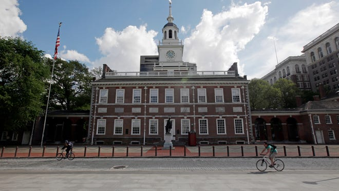 A mugger from Camden got 15 years in prison for attacks around Independence Hall.