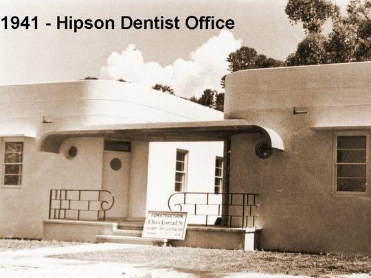The 1941 Hipson Medical Building on Osceola Street,