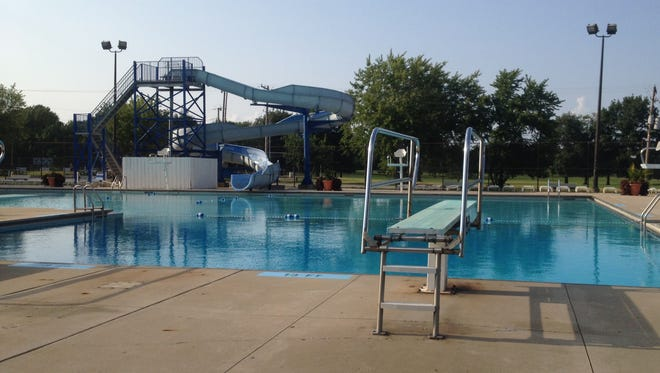 The city-owned pool in TPA Park will remain closed for the rest of the season.
