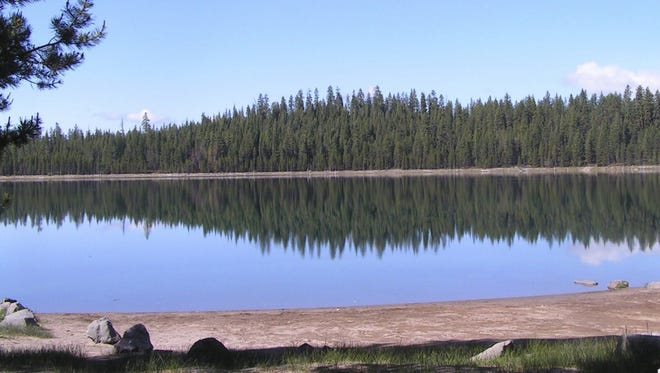 It's a fishing free-for-all at North Twin Lake in Deschutes County as a preamble to a chemical treatment in October.