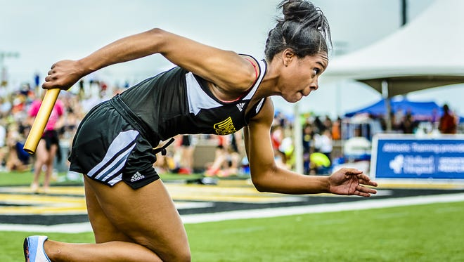 Waverly senior sprinter Teaghan Thomas has been part of five state championship relay teams over the first three years of her varsity track career. She also helped Waverly win the MHSAA team state title last spring.