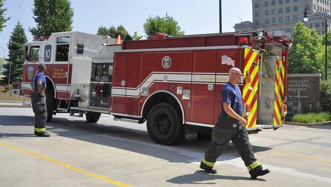 A reader asks about a recent incident in which a lot of fire trucks responded to a medical emergency, and fumes from a truck damaged foliage.