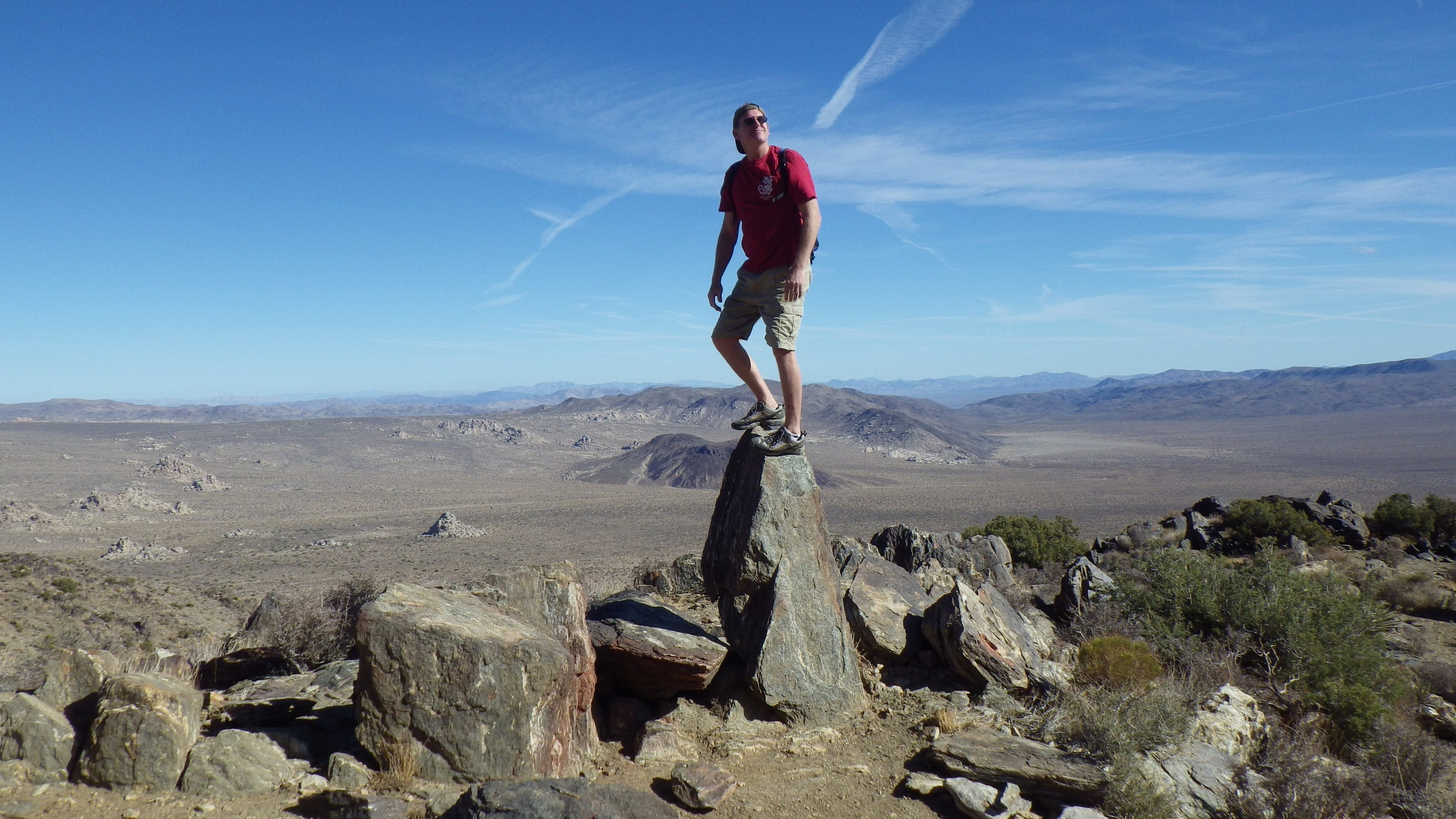 Desert hikes offer unexpected health benefits