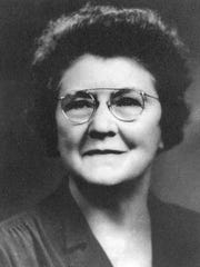 Elizabeth Clark became principal at St. Cloud's high school, known as Union School, in 1911. She moved to the new Technical High School when it opened in 1917. She was principal at Tech for 30 years; Clark Field is named after her.