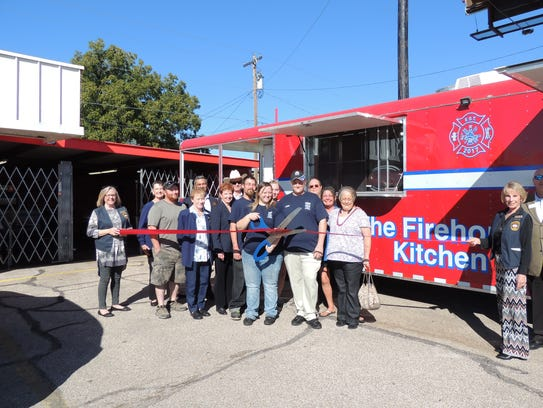 Firehouse Kitchen celebrated its grand opening as owners