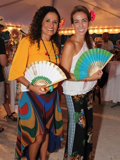 Event chairs Alicia Maldonado and Olga Henriquez