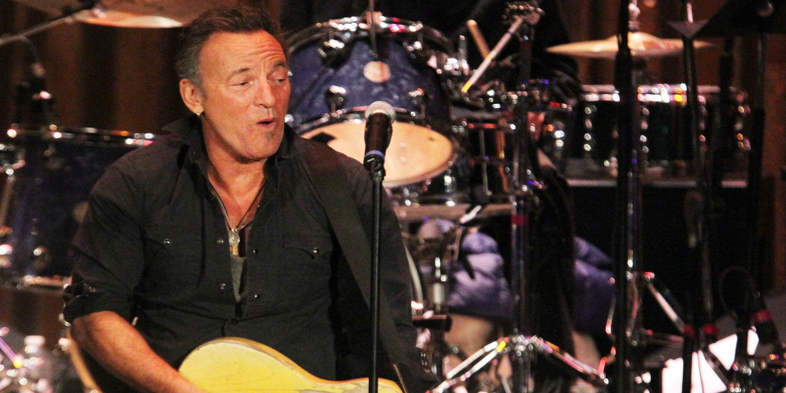 Bruce Springsteen a weekend warrior in Freehold, Asbury Park, NYC on E Street Radio show
