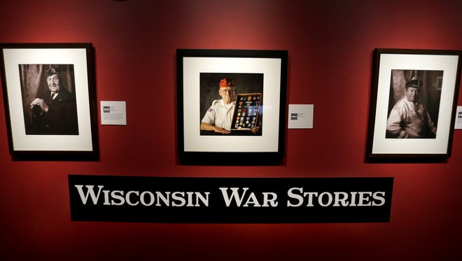 """""""Wisconsin War Stories"""" will be featured through July 3 at the Trout Museum of Art in downtown Appleton."""
