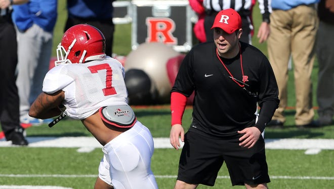 Rutgers halfback Robert Martin is the first-team starter during training camp.
