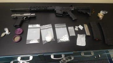 Troopers arrest three on suspicion of drugs