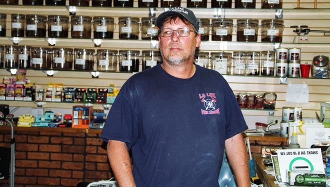 Business owner Rob Hahn who owns Smoker's Hut,  910 N New York Ave., claims Art Walk and Farmer's Market are hurting his business.