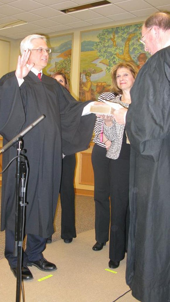 Jim Mulley (Town Justice) was sworn in by the Honorable Jack Doyle.