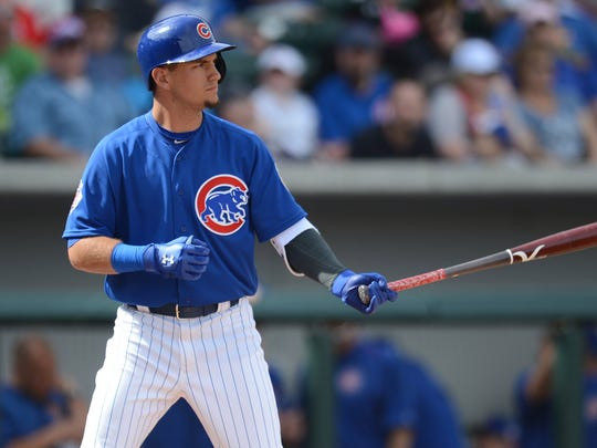 """Albert Almora Jr. has a lot on his plate while playing for the Iowa Cubs in 2016. His father is battling prostate cancer, and he and his fiancee are expecting their first child this fall. """"It's a surreal year right now, with the baby and getting married and what my dad's going through,"""" he said. """"It's a lot, and I'm as positive as I can be. I'm always trying to keep a smile on my face."""""""