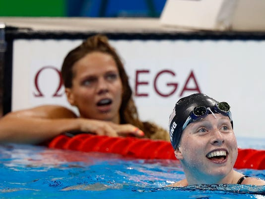 Swimming - Olympics: Day 3