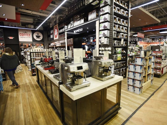 """Eisenberg describes Chef Central as """"a cooking enthusiast's dream"""" and said the Paramus test is part of an experiment by Bed Bath & Beyondto gauge how a specialty cookware store does within thelarger store."""
