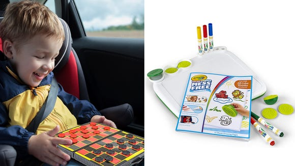 10 ways to keep your kids entertained on a road trip—no