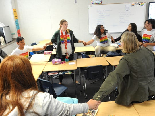 E.O. Green Junior High School in Oxnard now has a gay-straight