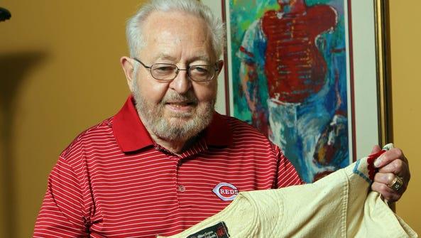 Bernie Stowe, long-time Cincinnati Reds equipment manager,