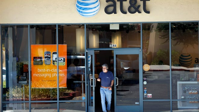 An AT&T store