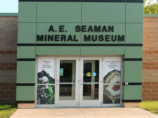 The A. E. Seaman Mineral Museum in Houghton has approximately