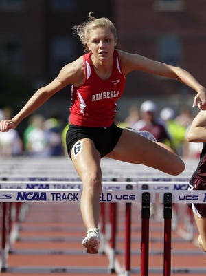 Kimberly junior Kayla Vandehey finished fourth in the 100-meter hurdles at the Division 1 state track meet in La Crosse.